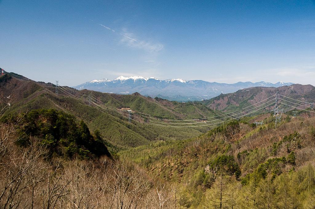 写真:「八王子峠からの眺め(西群馬幹線108、107、106、105号)」へリンク