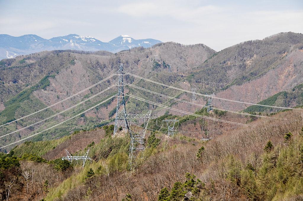 写真:「八王子峠からの眺め(安曇幹線2号線196、195、194、193号 西群馬幹線105号)」へリンク